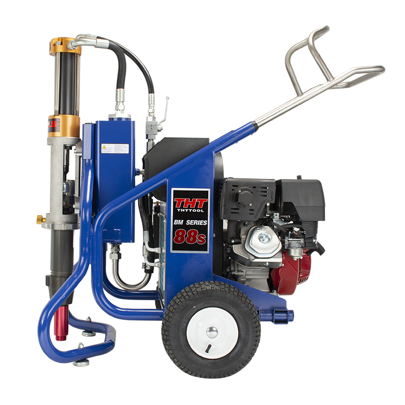 Gasoline BM88S putty high pressure airless spraying machine