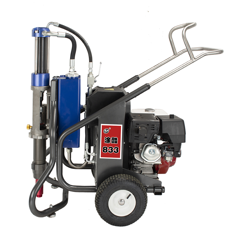 TK833 Engineering paint putty spraying machine