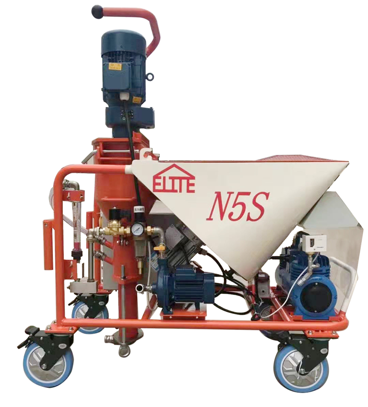 Fully automatic gypsum machine